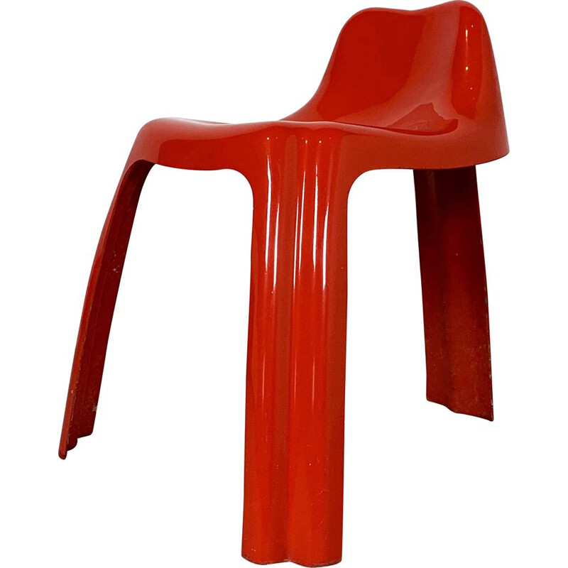 Vintage Ginger Chair by Patrick Gingembre for Paulus, 1970s
