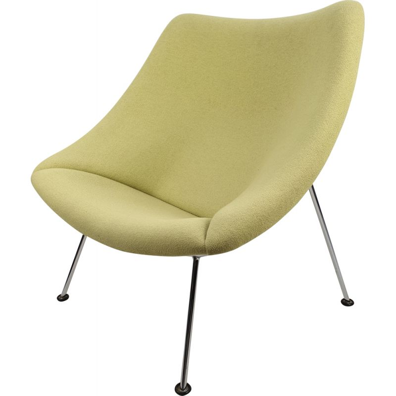 Vintage Oyster Chair by Pierre Paulin for Artifort, 1980