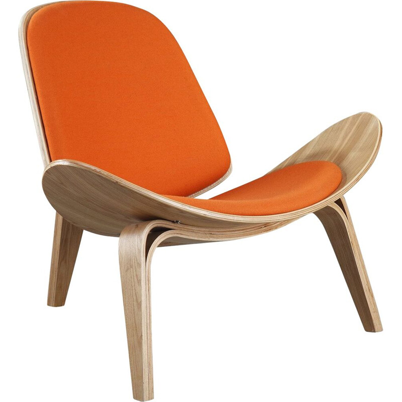 Vintage Shell Chair by Hans Wegner, 1963