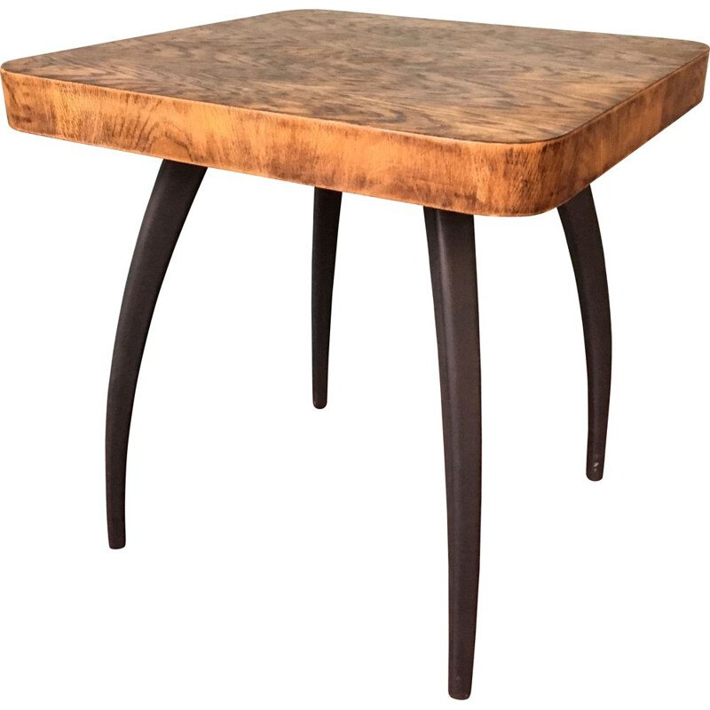 Vintage side table by Jindrich Halabala, 1950