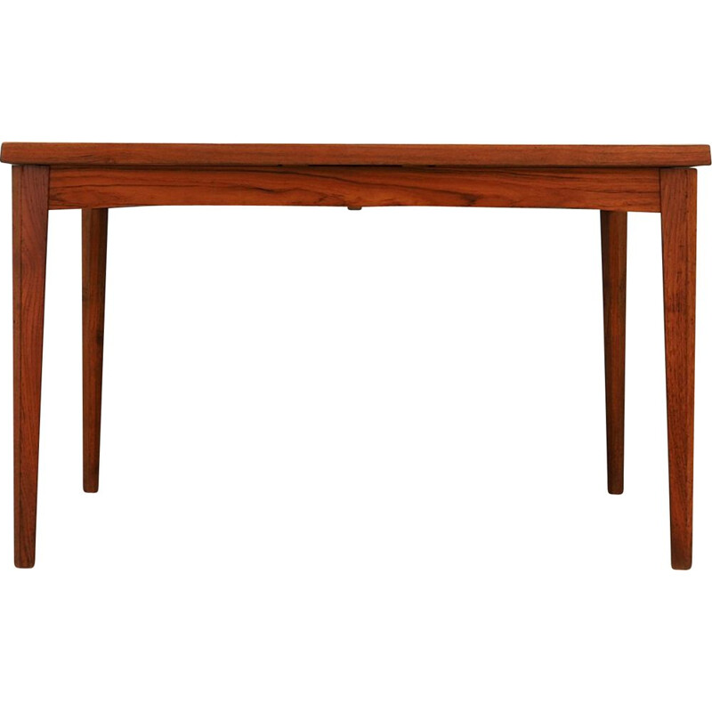 Vintage table in teak veneer, Danish design, 1960-1970