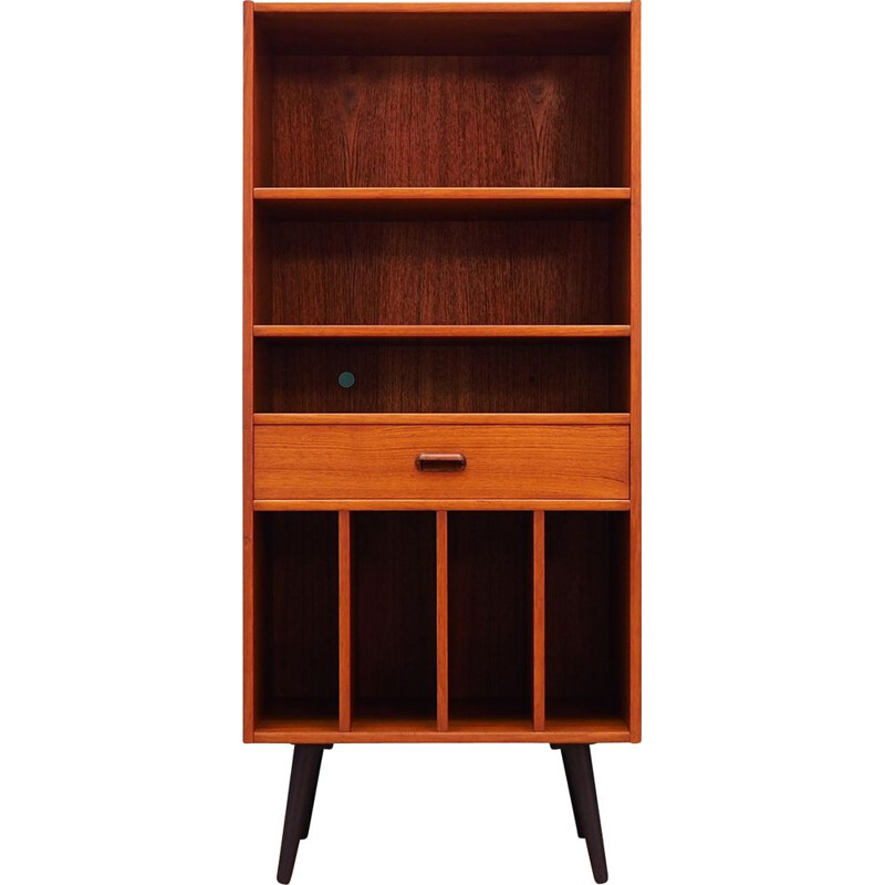 Vintage bookcase in teak 1960-1970