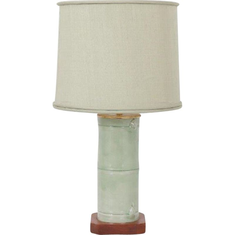 Vintage faux bamboo table lamp, United States of America, 1970s