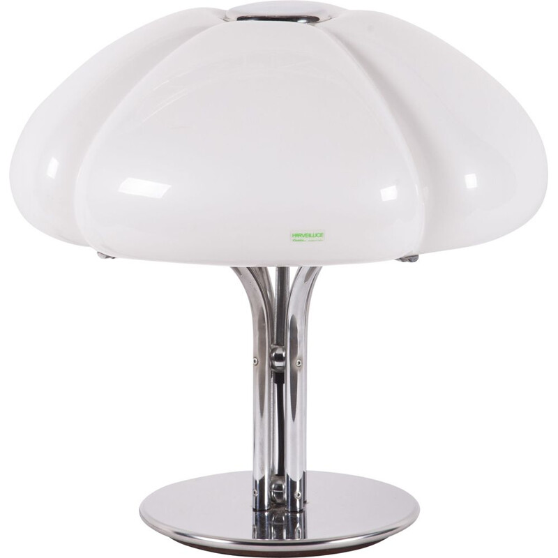 Vintage quadrifoglio table lamp by Gae Aulenti for Guzzini, 1970s
