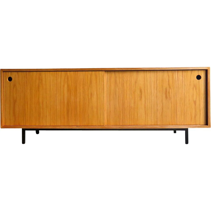 Vintage wooden and oak sideboard, 1990s