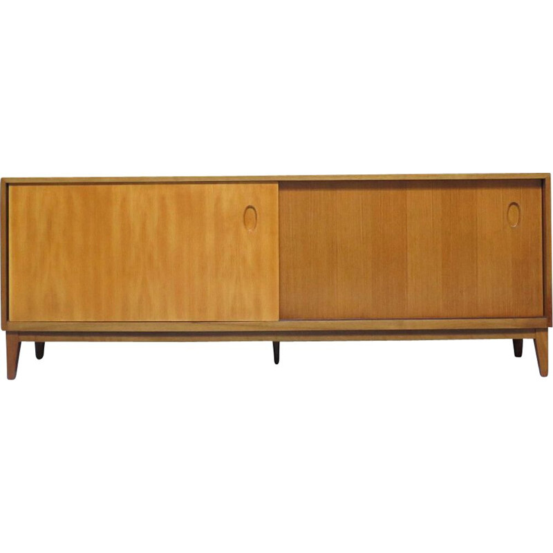 Vintage sideboard with sliding doors , 1960s