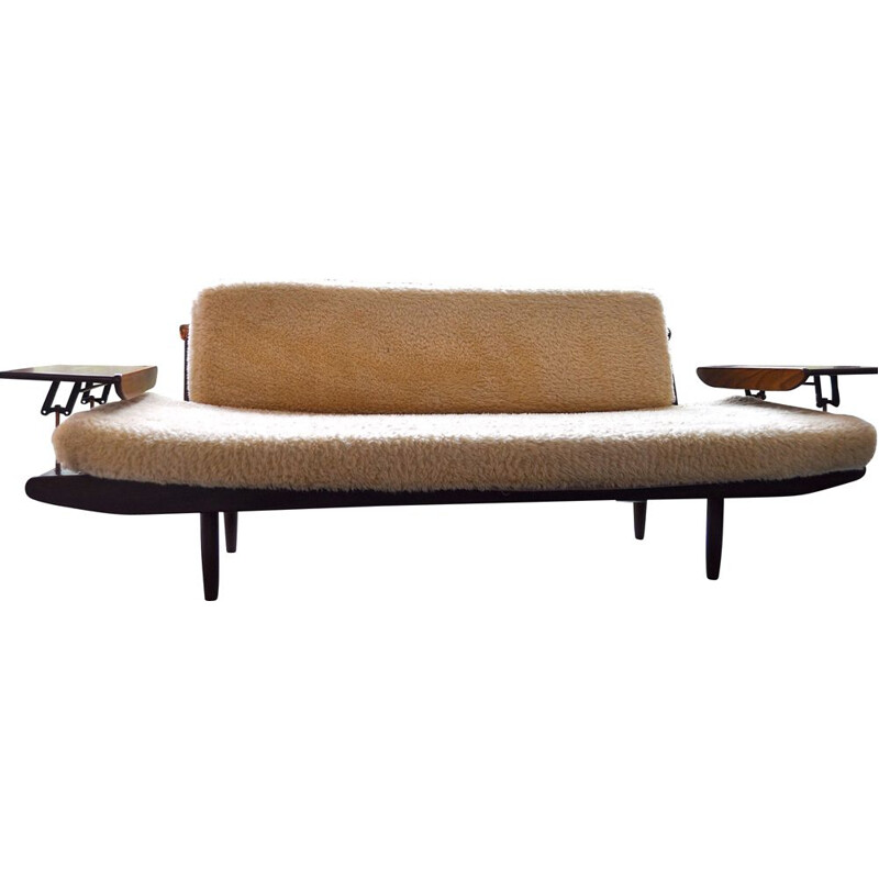 Toothill lounge set with 1 sofa bed and a pair of armchairs, Denmark 1960
