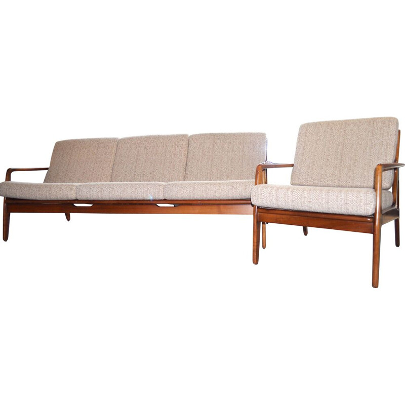 Vintage Danish 3-seaters sofa by Arnne Vodder, 1960