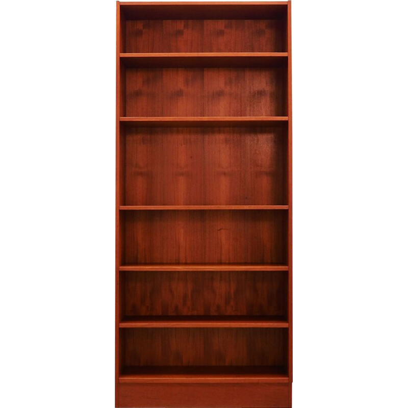Vintage Bookcase by Domino Mobler in Teak 1960