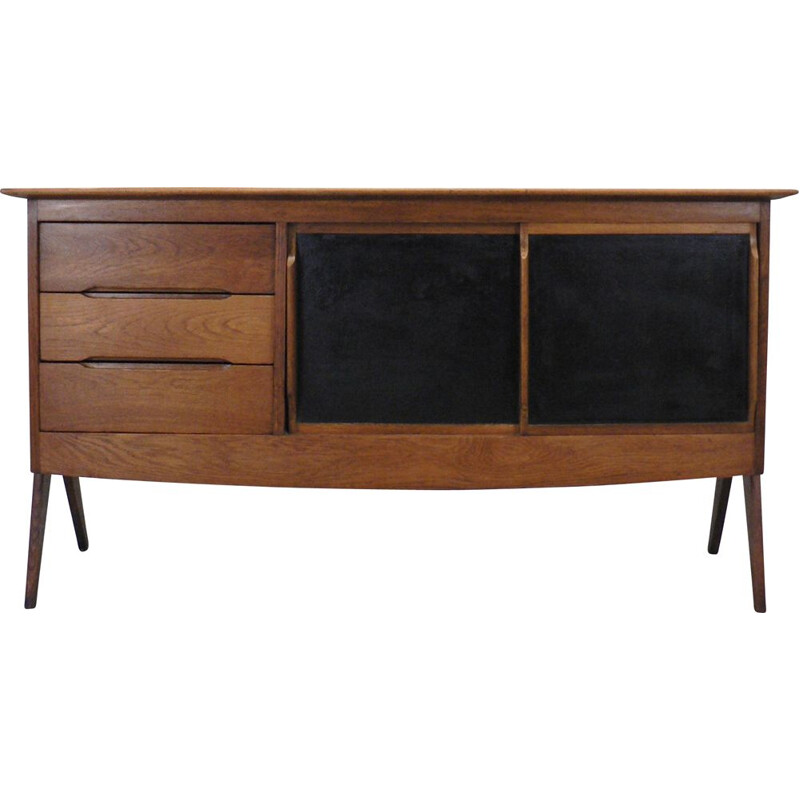Vintage sideboard with compass legs, 1950