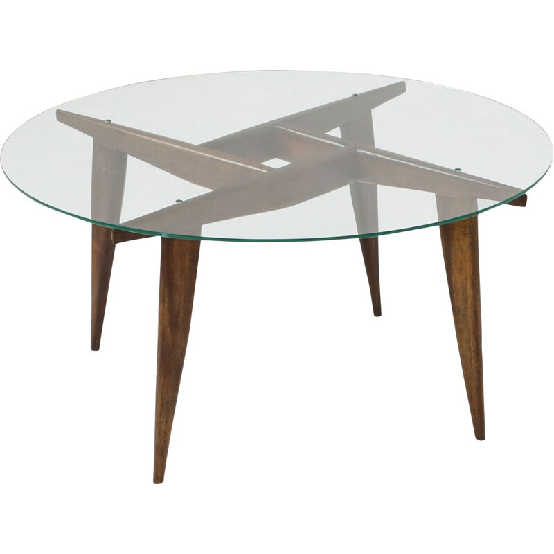 Vintage coffee table by Gio Ponti for Singer and Sons, 1950s