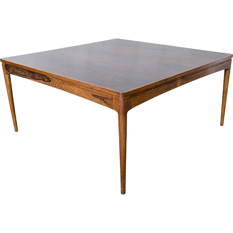 Vintage coffee table by Ole Wanscher for AJ Iversen, 1950s