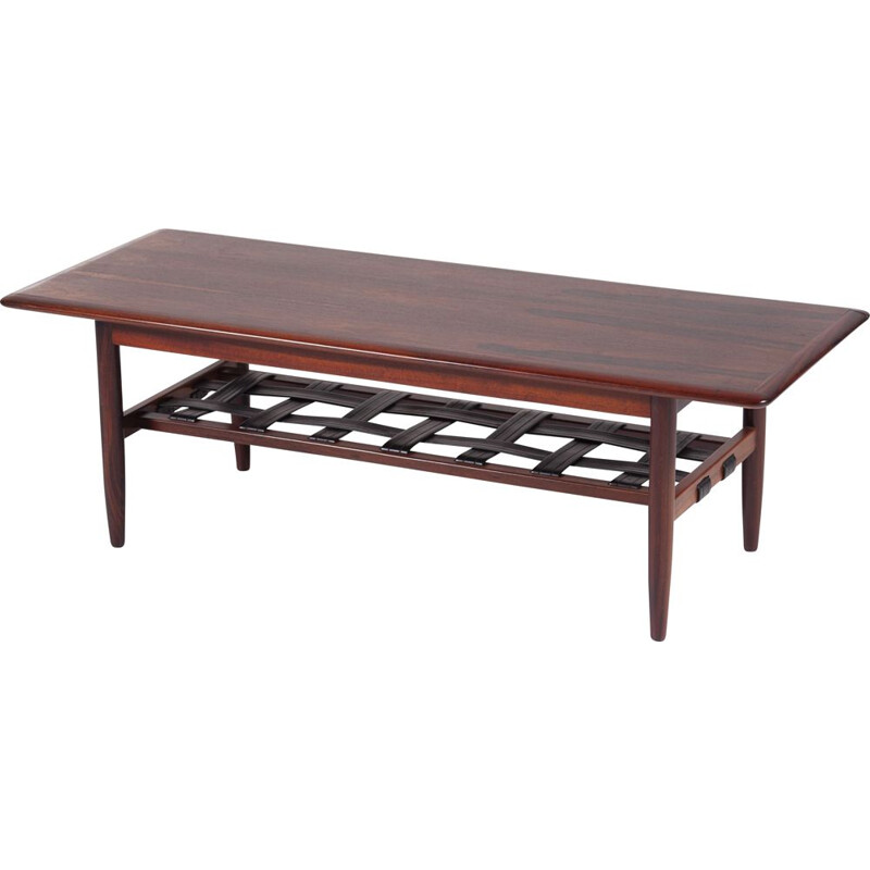 Vintage Rosewood Coffee Table by TopForm, 1960s
