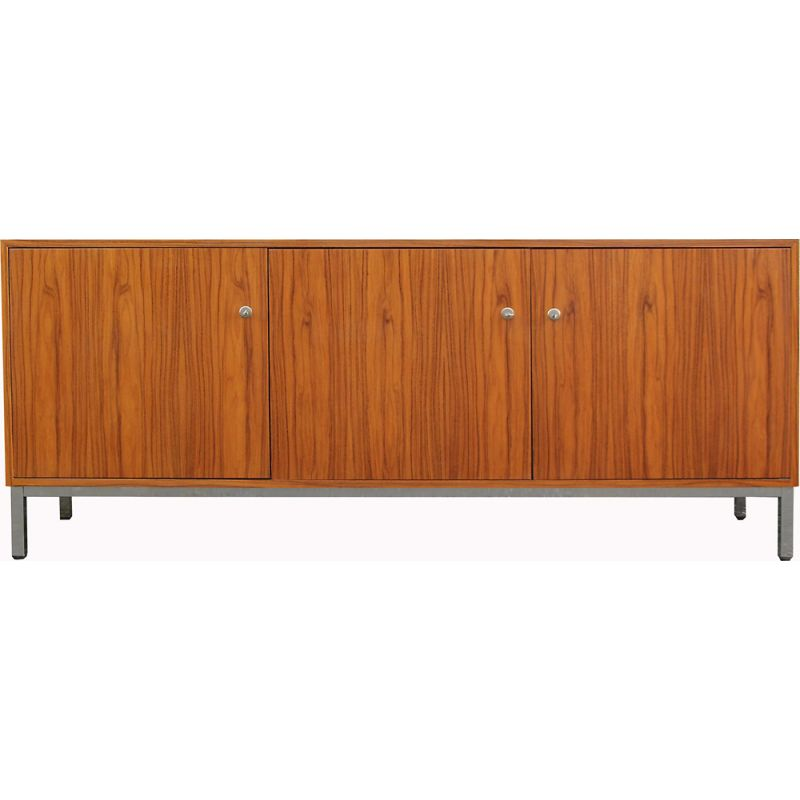 Vintage rosewood and chrome sideboard, 1970