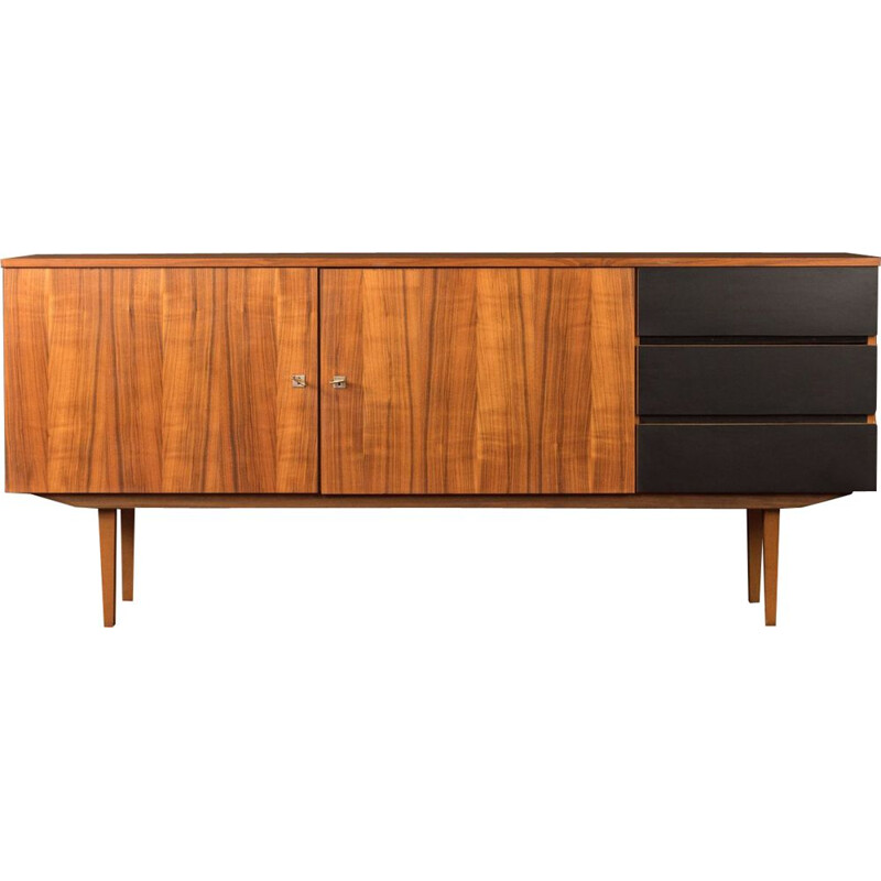 Vintage sideboard in formica and walnut, Germany 1960s