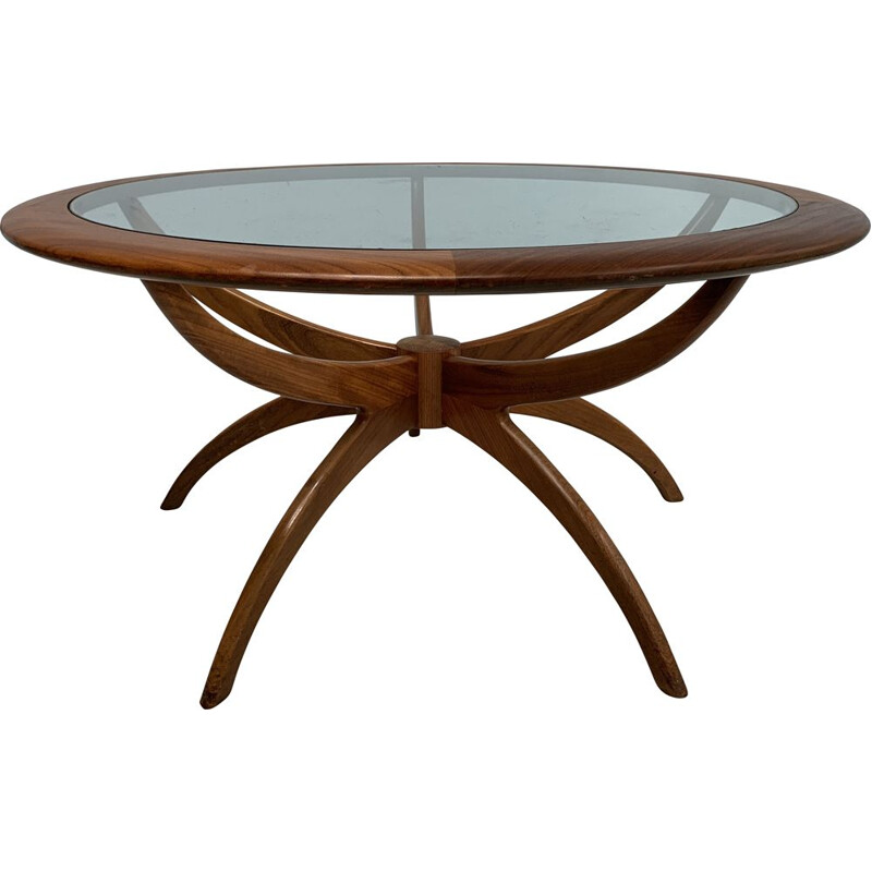 """Vintage coffe table """"Spider"""" by  V.Wilkins  for G-Plan, England 1960"""