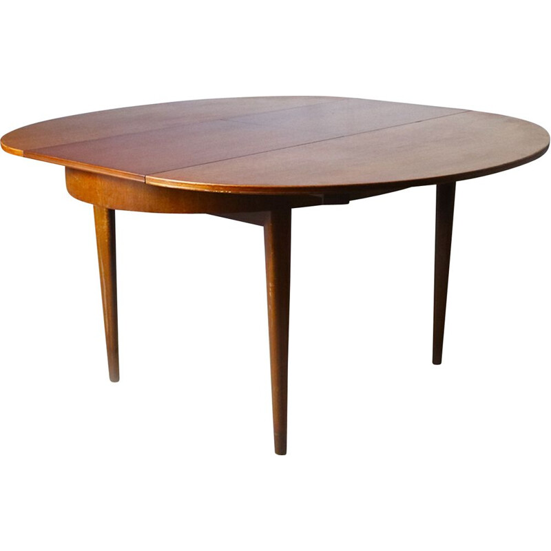 Vintage dining table by Greaves & Thomas in teak, 1960