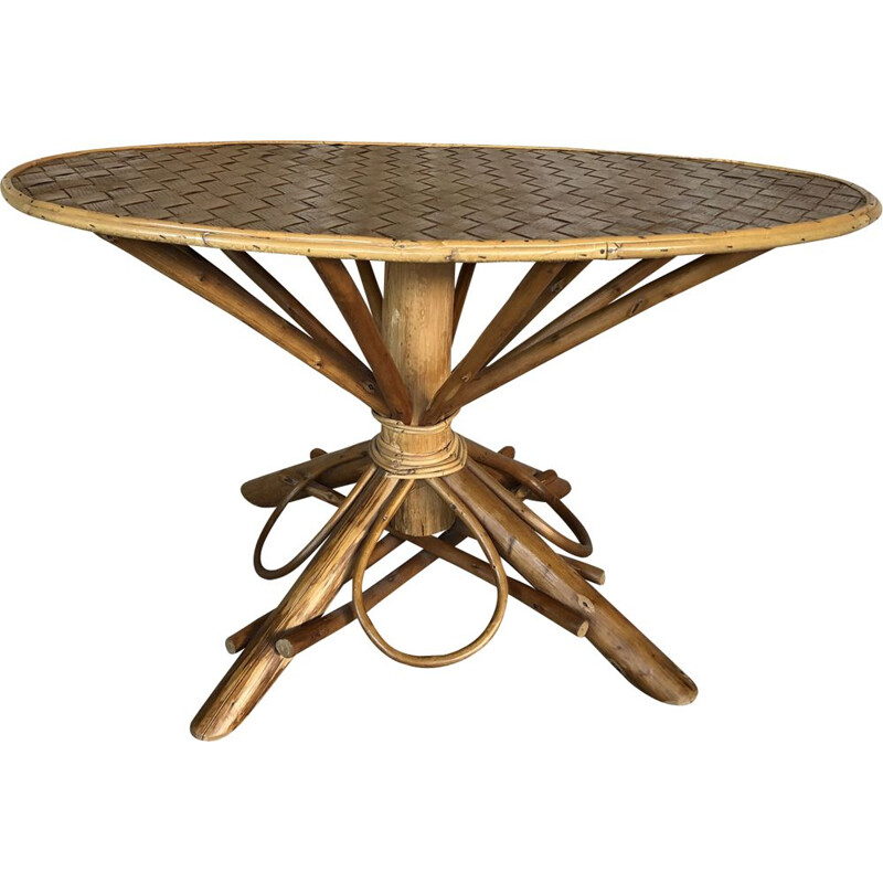 Vintage coffee table with spider legs, 1960