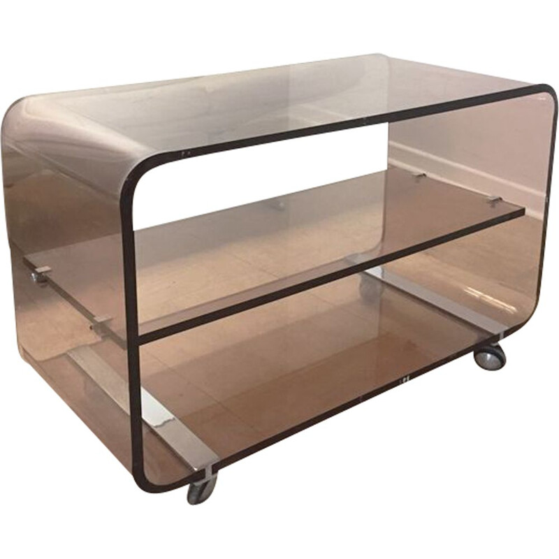 Vintage coffee table by Michel Dumas for Roche Bobois, 1970