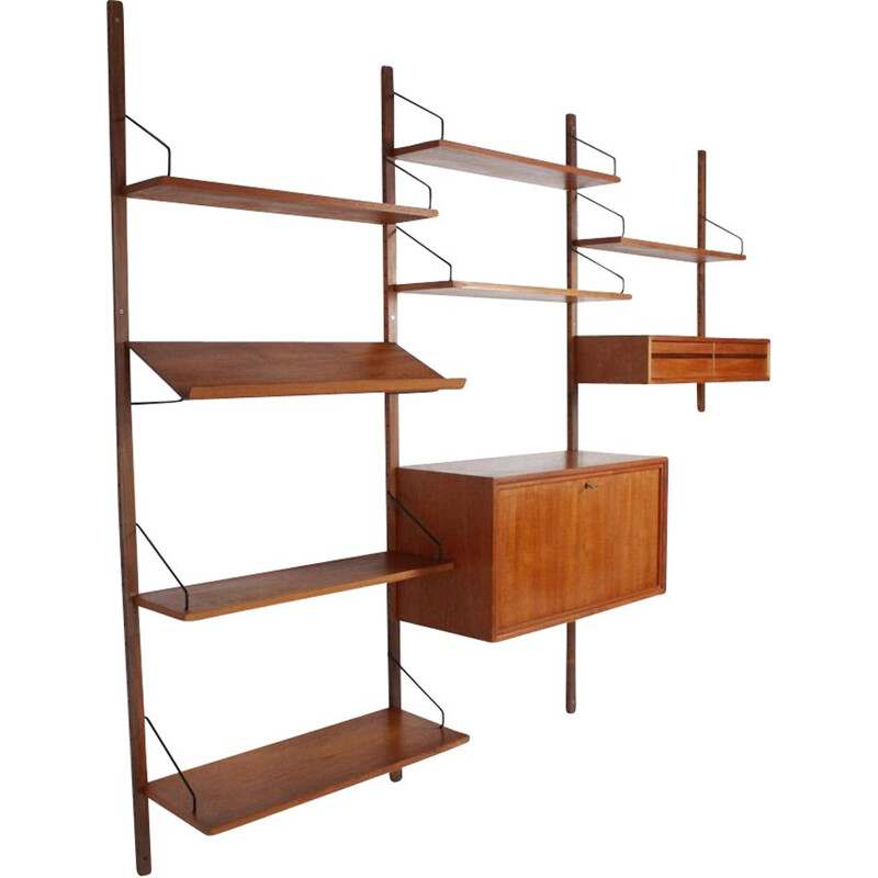 Vintage Wall Unit Royal System by Poul Cadovius for Cado