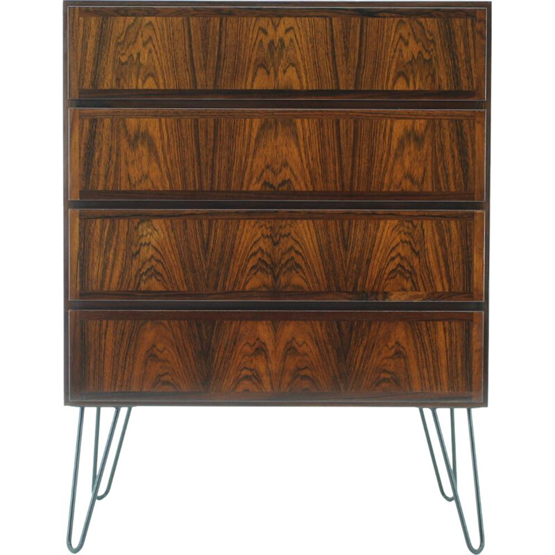 Vintage rosewood chest of drawers by Omann Jun, Denmark 1960