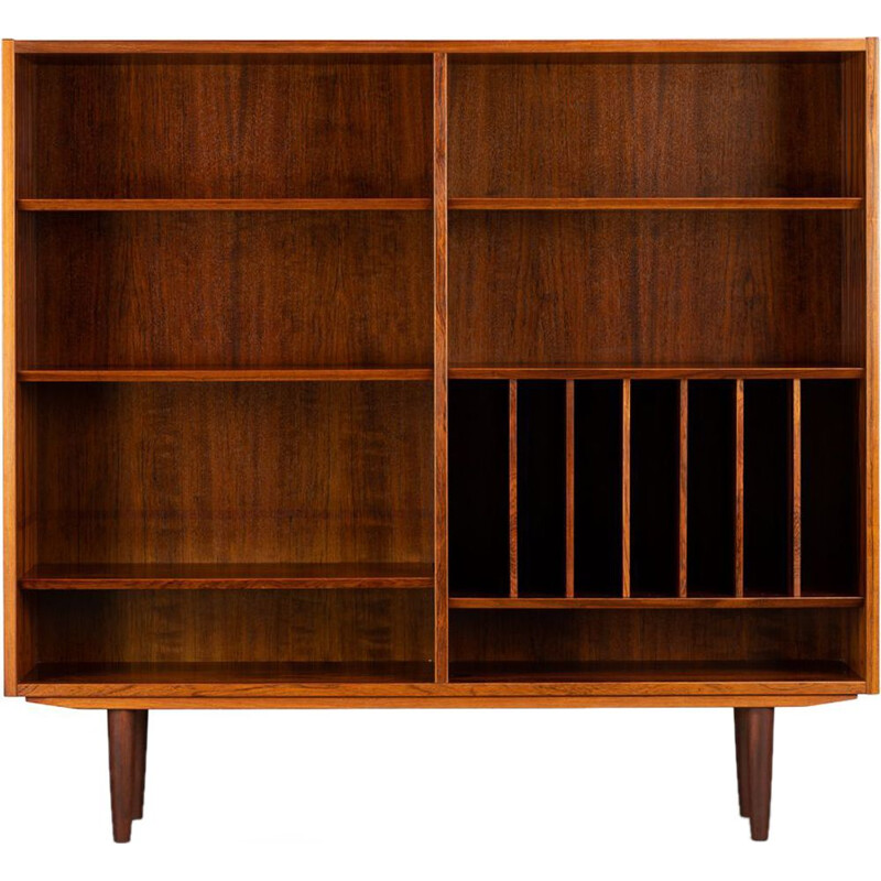 Vintage Rosewood Bookcase by Carlo Jensen for Hundevad & Co, 1960s
