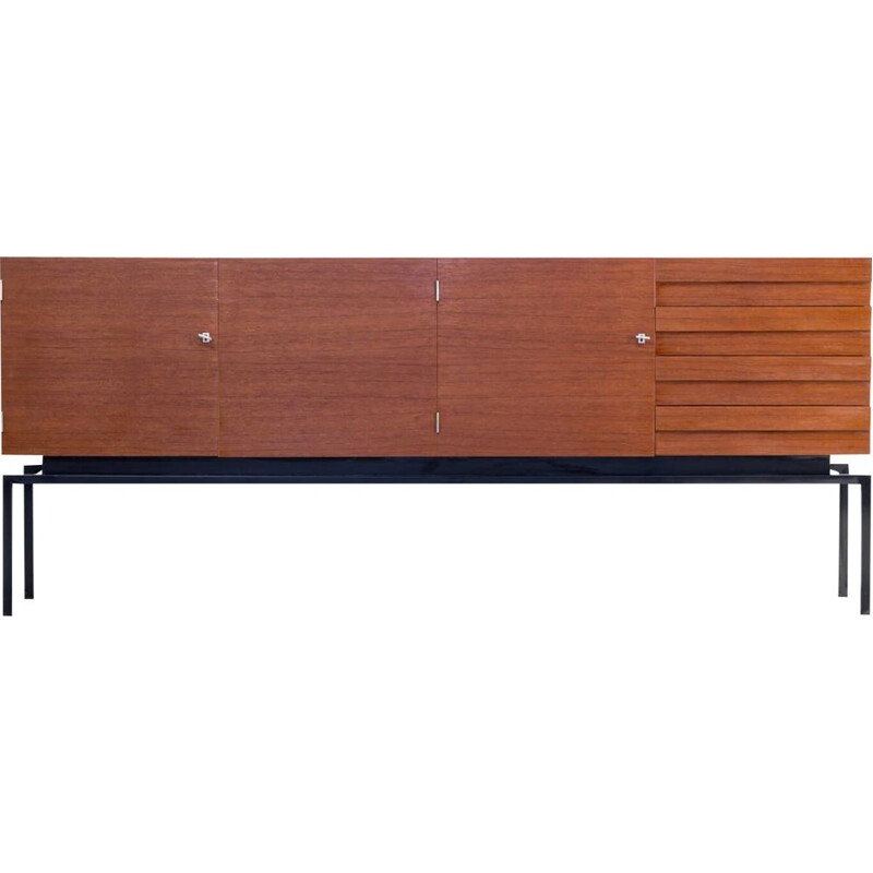 Vintage teak sideboard by Leo Bub for Bub Wertmöbel, 1970