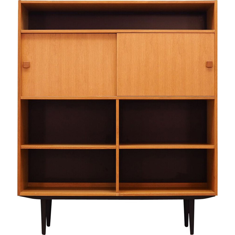 Vintage ash Bookcase by Domino Mobler, 1960-70s