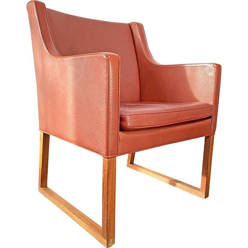 Vintage model 3246 Armchair by Børge Mogensen for Fredericia Stolefabrik, 1970s