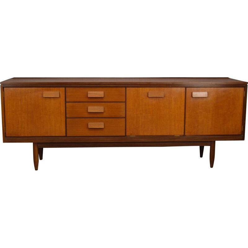 Vintage teak sideboard by William Lawrence of Nottingham, 1960
