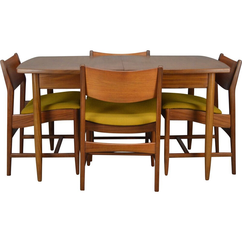 Vintage dining set in teak by William Lawerence of Nottingham