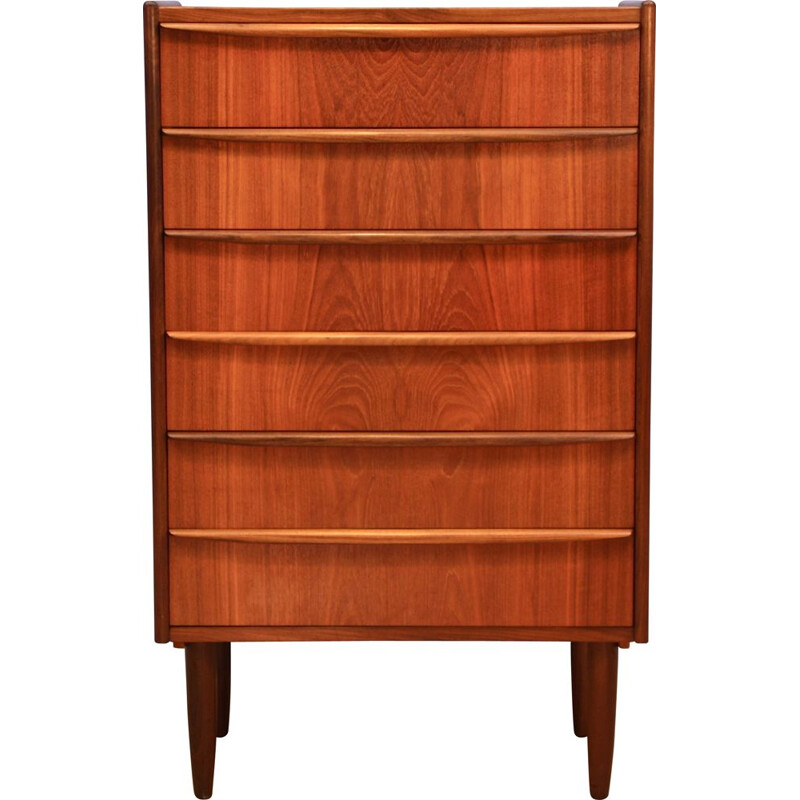 Danish chest of drawers in teak, 1960s