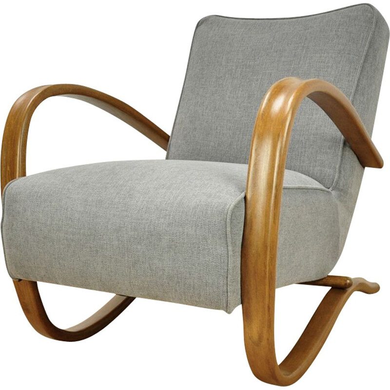 Vintage H-269 Armchair by Jindřich Halabala for UP Závody, 1930s