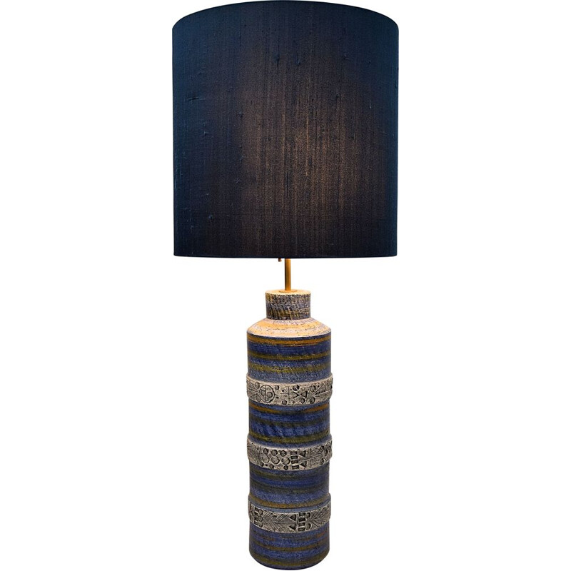 Vintage Italian Ceramic Table Lamp by Aldo Londi for Bitossi
