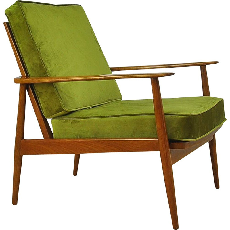 Vintage Antimott Armchair By Walter Knoll 1950s