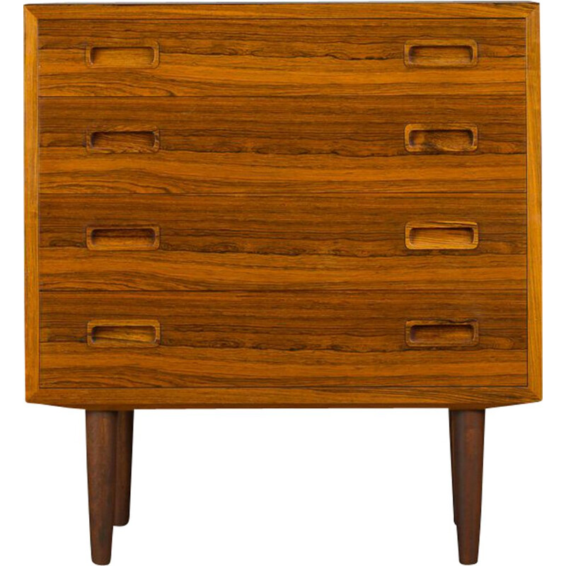 Vintage Rosewood chest of drawers by Carlo Jensen for Hundevad & Co., 1960