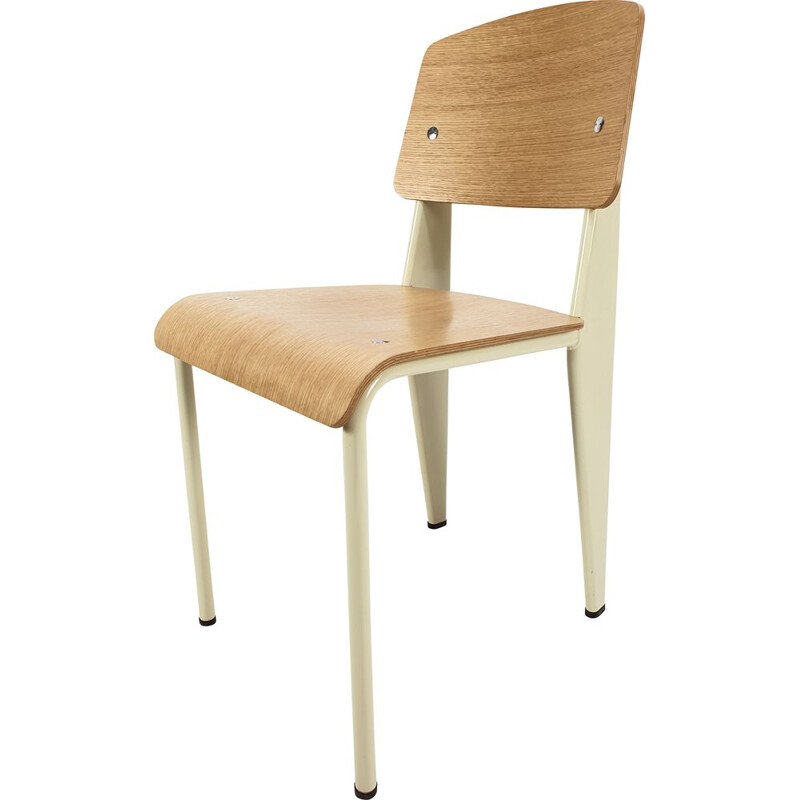 Vintage Standard Chair for Vitra by Jean Prouvé