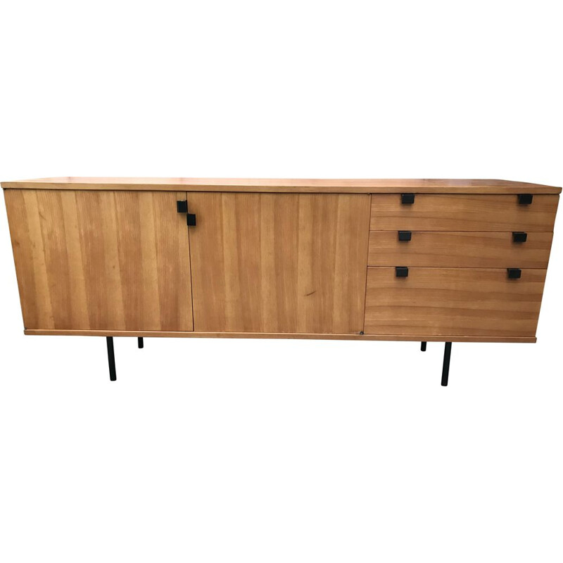 Vintage sideboard by Alain RICHARD for Meuble TV