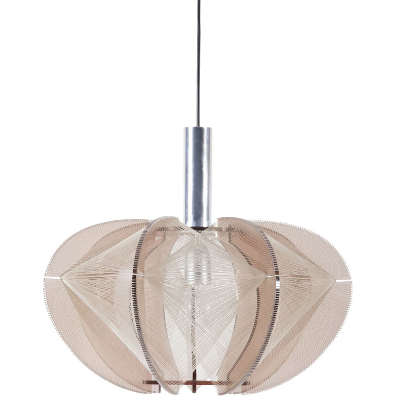 Vintage Lucite Pendant Lamp by Paul Secon for Sompex, 1960s