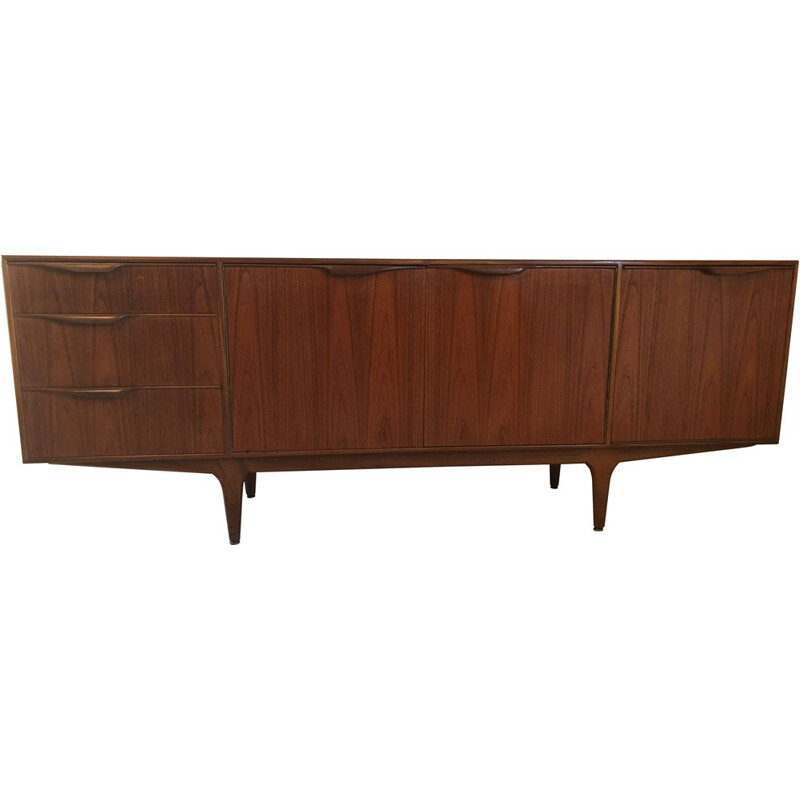 Vintage Dunvegan teak sideboard by McIntosh 1960s