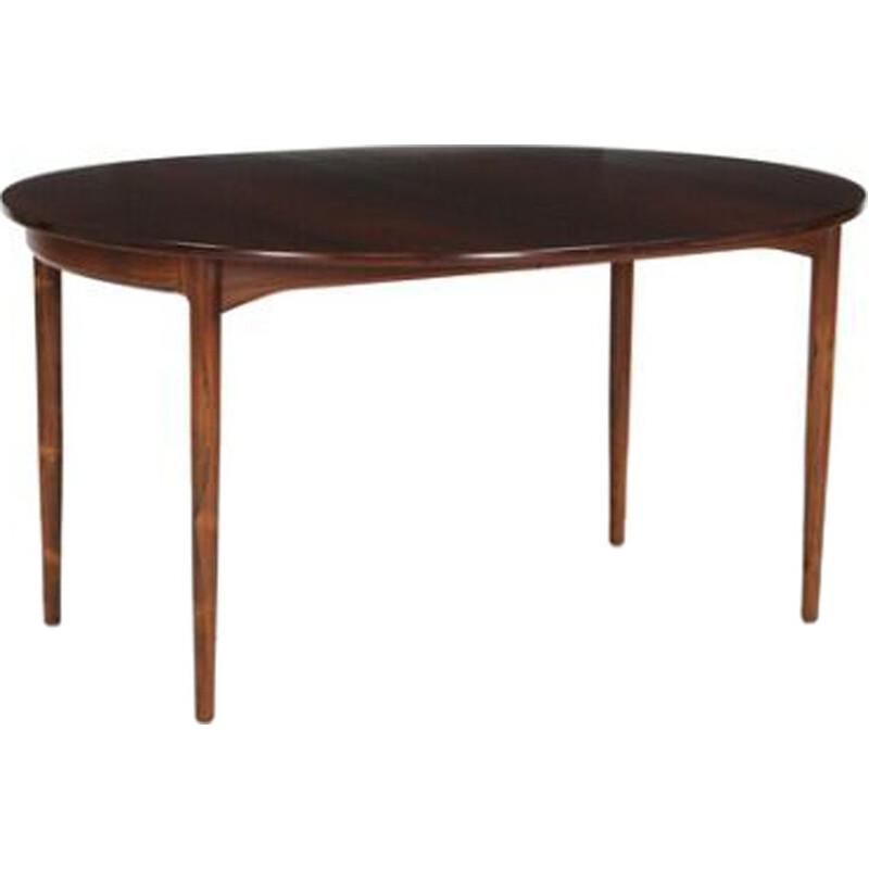 Vintage Swedish oval table by Kofod-Larsen for Säffle