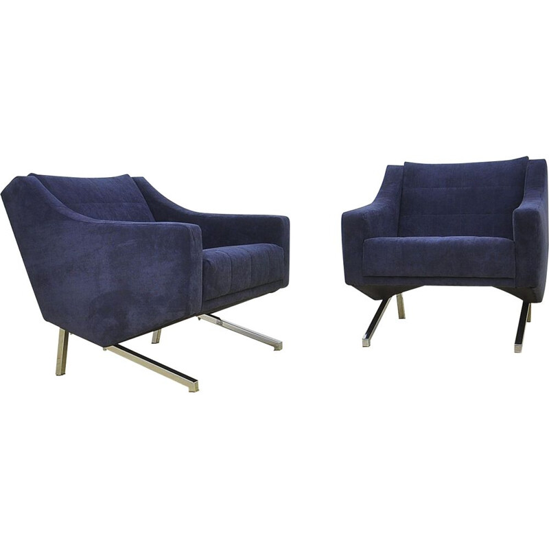Vintage pair of German Armchairs, 1960s