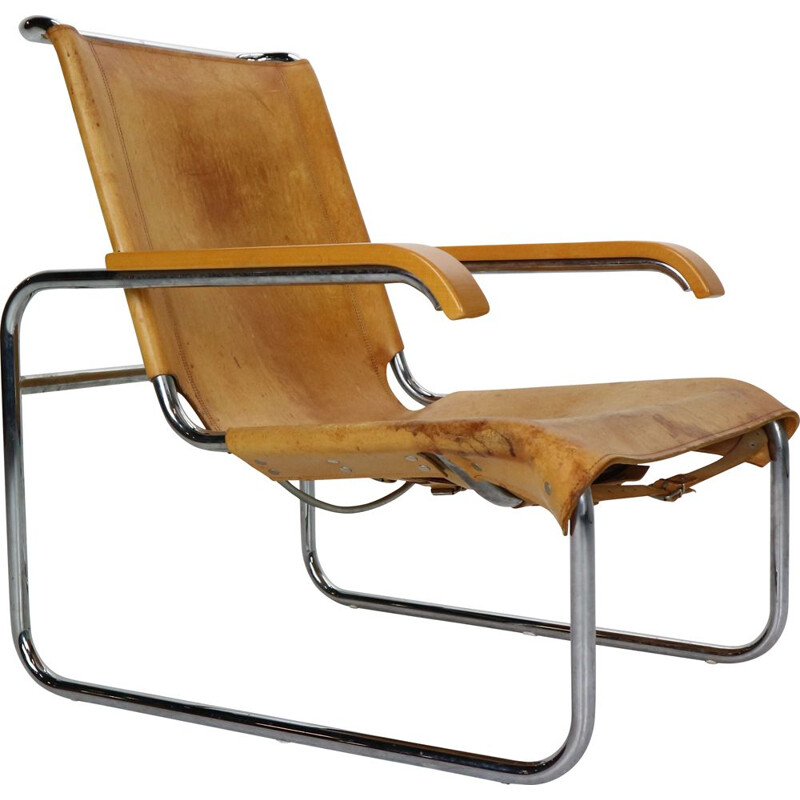 Vintage Armchair B35 by Marcel Breuer for Thonet, 1930 Germany