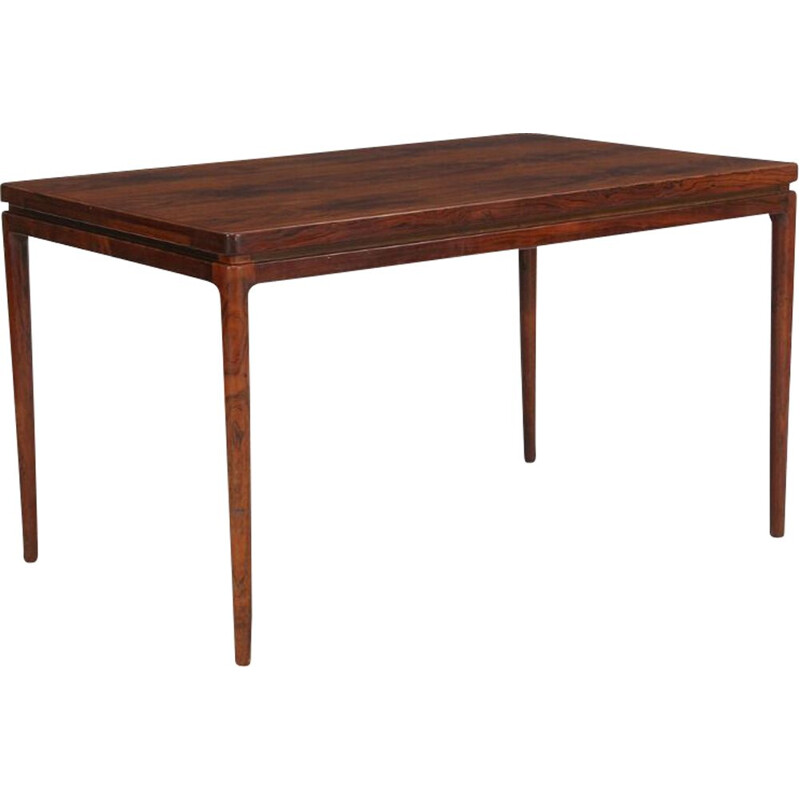Rosewood dining table with extension