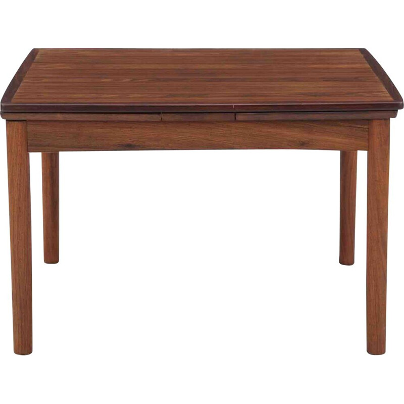 Vintage rosewood extendable coffee table by Poul Hundevad
