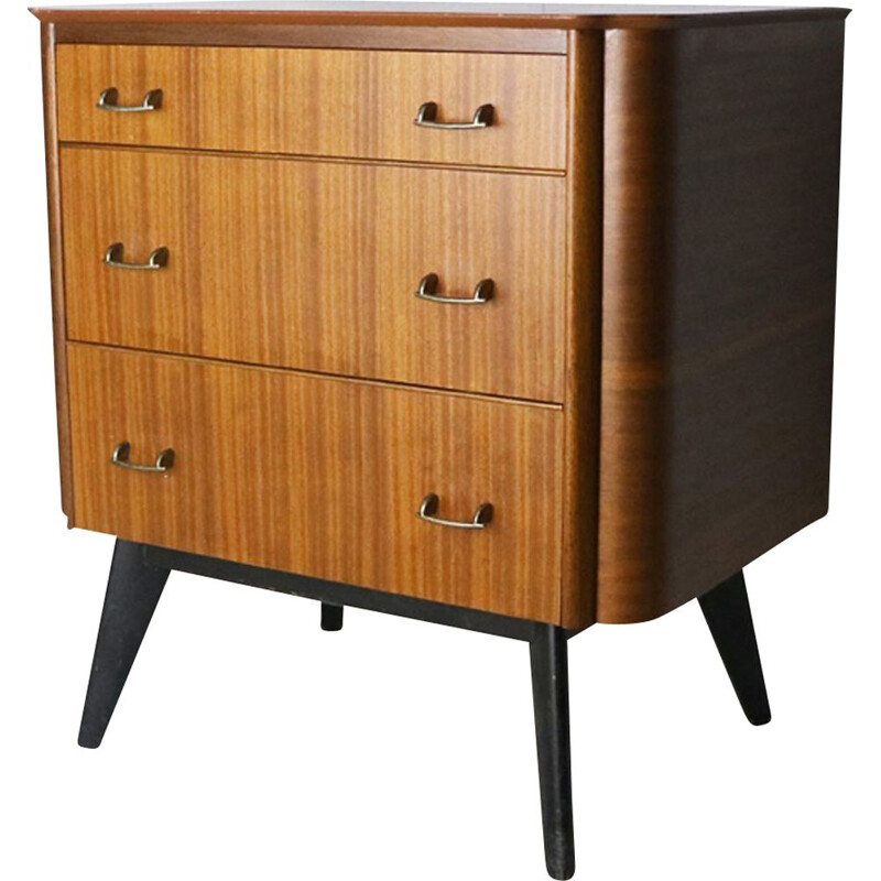Vintage petite chest of drawers, United Kingdom, 1950