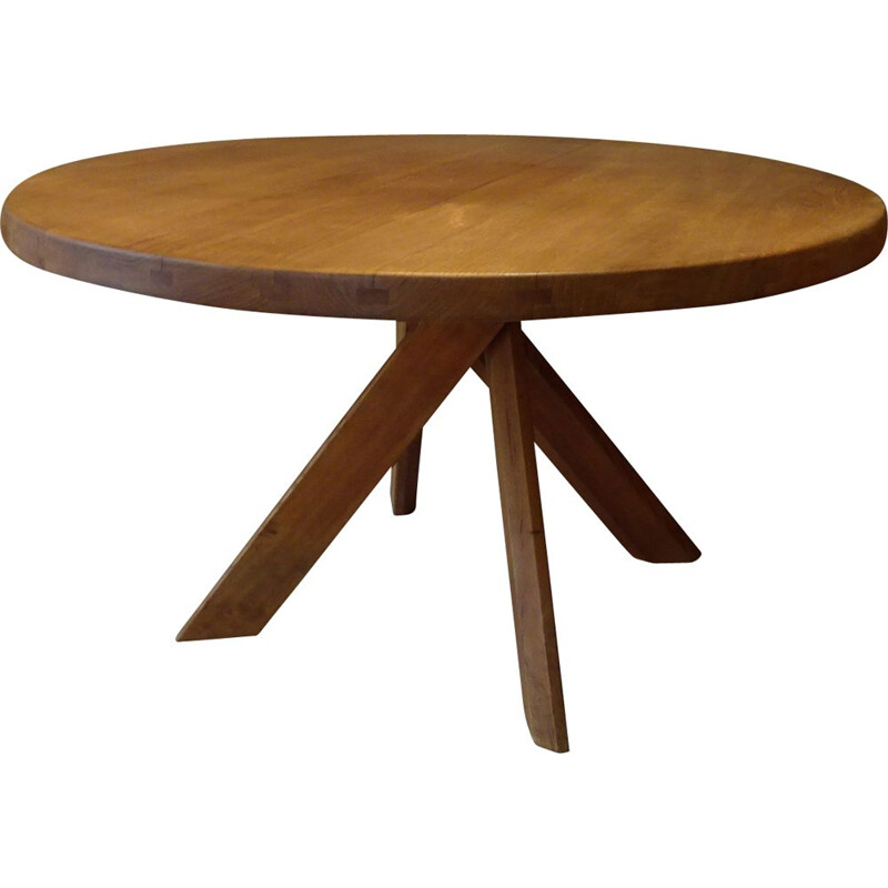 Vintage T21 table by Pierre Chapo