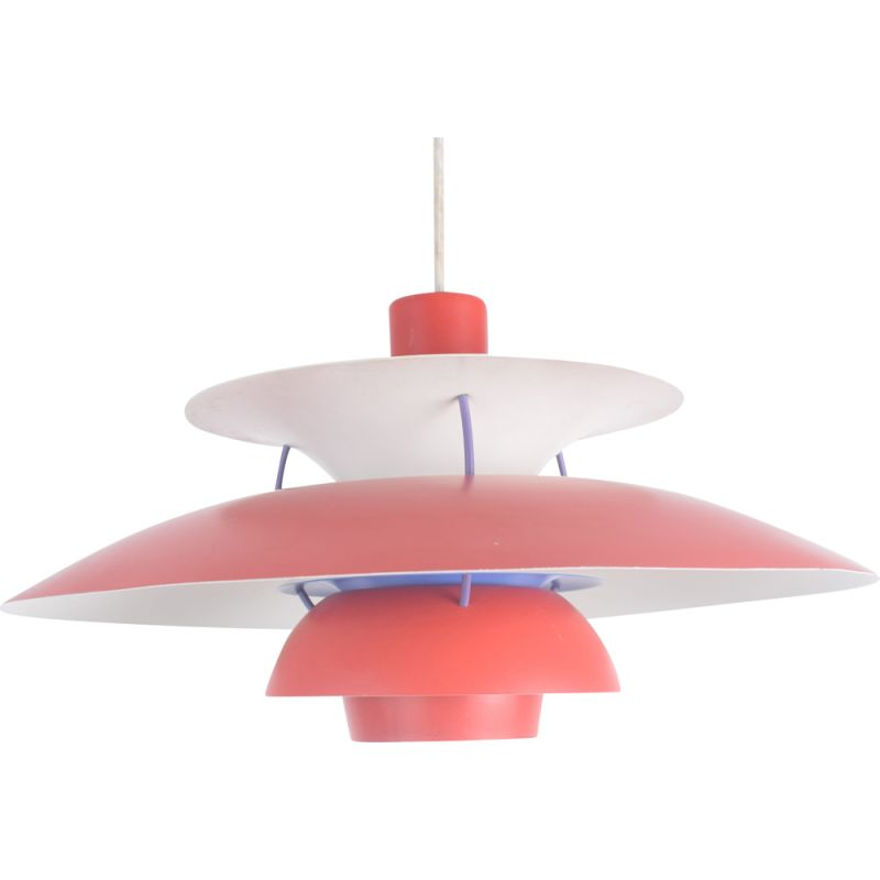 Vintage PH5 hanging lamp  by Poul Henningsen